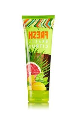 Bath & Body Works Ultra Shea Body Cream Fresh Brazil Citrus