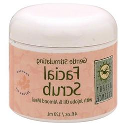 Desert Essence Cream Face Scrub Gntl Stm