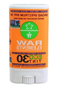 Raw Elements Sunscreen Eco Tint Stick 30, .60 oz