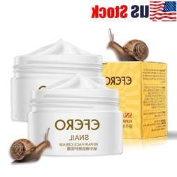 USA Snail Face Cream Hyaluronic Acid Moisturizer Anti Wrinkl