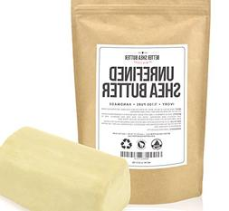 Unrefined Shea Butter by Better Shea Butter - African, Raw,