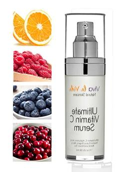 Viva la Vida Natural Vitamin C Serum With Hyaluronic Acid Be