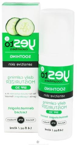 Yes To - Cucumbers Soothing Sensitive Skin Daily Calming Moi