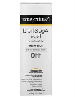 Neutrogena Age Shield Face Sunscreen Lotion ~ SPF 110 ~ 3 oz