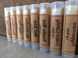 All Natural Lip Balm| Choose Your Flavor|Beeswax Lip Balm|Ha