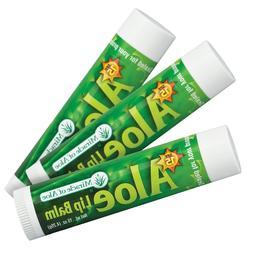 Miracle of Aloe, SPF-15 Sunscreen Aloe Lip Balm, .15 oz stic