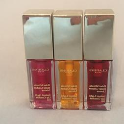 AUTHENTIC Clarins Paris Instant Light Lip Color Oil .1 oz Fu