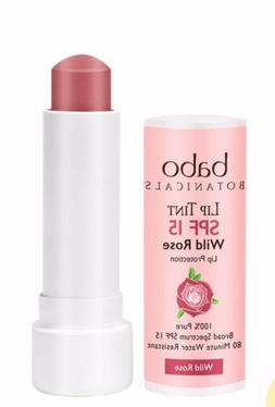 Babo Botanicals Lip Tint SPF 15 Lip Treatment Conditioner -