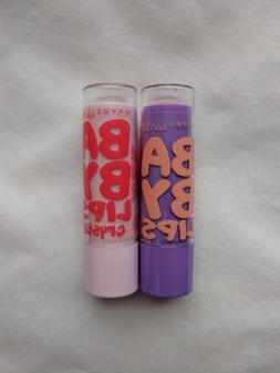 Maybelline New York Baby Lips Moisturizing Balm / Lot of 2 /