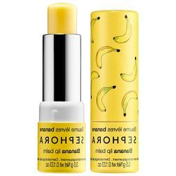 Sephora Banana Lip Scrub Balm gloss stick nourishing free sh
