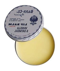 Barr-Co. Lip Balm in Tin - Vanilla and Oatmeal 0.8oz