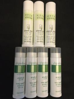 AVON  Basics  Care Deeply With Aloe  Lip Balm  , Lot Of 7 Li