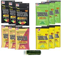 SPORT BEANS Jelly Belly Variety 1 oz  - Assorted, Green Appl