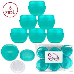 Beauticom®  30G/30ML High Quality Teal OV Container Jars