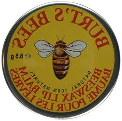 Burt's Bees Beeswax Lip Balm Tin - 3 pack