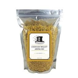 Beesworks BEESWAX PELLETS, YELLOW, 1lb-Cosmetic Grade-Triple