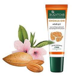 Biotique Bio Almond Overnight Therapy Lip Balm 10 gm - Free