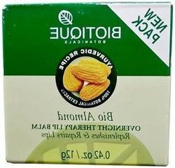 Biotique Bio Almond Overnight Therapy Lip Balm 12 gm Free Sh