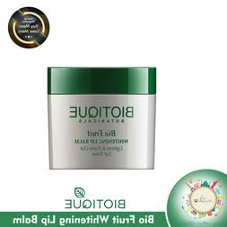 BIOTIQUE BIO FRUIT WHITENING LIP BALM LIGHTENS & EVENS-OUT L