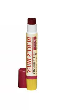 Burt's Bees 100% Natural Moisturizing Lip Shimmer RAISIN Lip