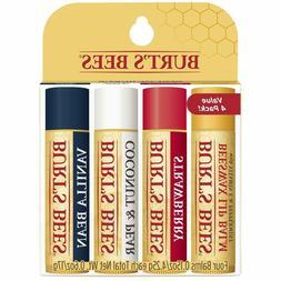 Burt's Bees 100% Natural Moisturizing Lip Balm, Multipack -