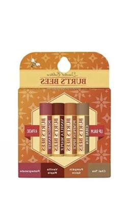 Burt's Bees 100% Natural Moisturizing Lip Balm, Holiday Pack