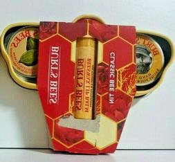 Burt's Bees Classic Bee Tin Set Hand Salve/Lip Balm/Cuticle
