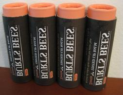 Burt's Bees - Tinted Lip Balm - ZINNIA - Lot of FOUR New Tub