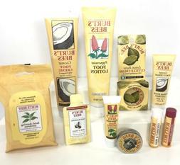 Burts Bees 🐝 Foot Cream Lip Balm Hand Salve Cuticle Cream