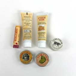 Burt's Bees Lot Lip Balm Foot Hand Cuticle Creams Hand Sal