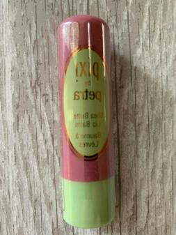 Pixi by Petra Shea Butter Lip Balm NEW Sealed Natural Rose 0