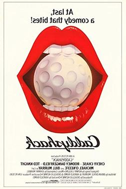 """Caddyshack 'Lips' Version 27x40"""" Movie Poster """"At Last a Com"""