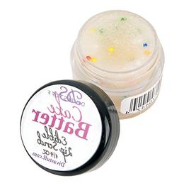 Cake Batter Lip Scrubbie by Diva Stuff - 1/4 ounce
