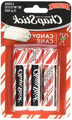 Chapstick Limited Edition Candy Cane a Pack of 3