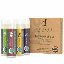 certified organic beeswax lip balm pack of