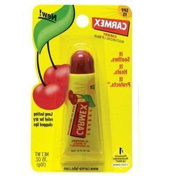 Carmex Cherry Flavored Lip Balm SPF 15 Tube .35 Ounces 12/Bo