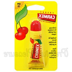 Carmex Cherry Lip Balm Tube Flavored SPF15 Water Resistant 1
