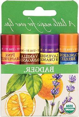 Classic Lip Balm - Tangerine Breeze, Lavender & Orange, Vani