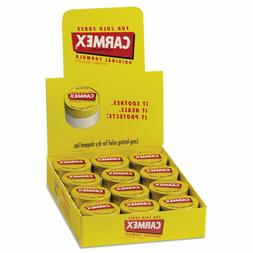 CARMEX CLASSIC LIP BALM ORIGINAL JAR 0.25 OZ, 12-COUNT BOX
