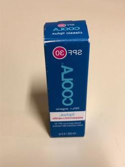 Coola Classic Liplux Lip Balm SPF 30 - PEPPERMINT + VANILLA
