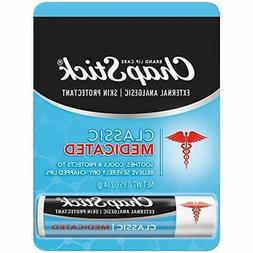 ChapStick Classic Medicated  Lip Balm and Skin Protectant Tu