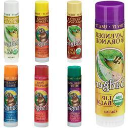 Badger Classic Organic Lip Balm Sticks 4.2g -Moisturise Dry
