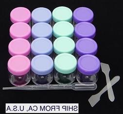 Clear Empty Cosmetics, Lip Balm, Medicine, Mixing Sample Con