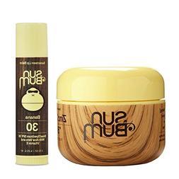 Sun Bum Clear Zinc Oxide + Banana Lip Balm -