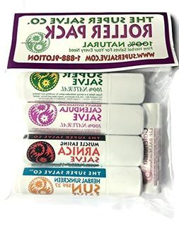 Super Salve Co. 100% Natural Herbal Travel Salves and Lip Sa