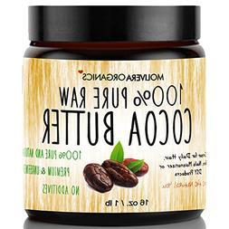 Cocoa Butter - Molivera Organics Raw Organic 100% Pure Raw P