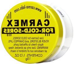 Carmex Carmex Cold Sore Reliever and Lip Moisturizer, Jar 0.