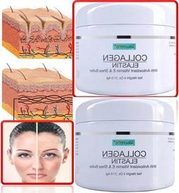 COLLAGEN & ELASTIN SKIN CREAM Firming Face Care Anti Aging W