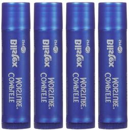 Blistex Complete Moisture Lip Balm SPF 15 Sunscreen, 4 pack