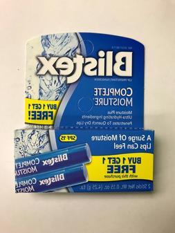 Blistex Complete Moisture Protectant Lip Balm  - SPF15 .15 O